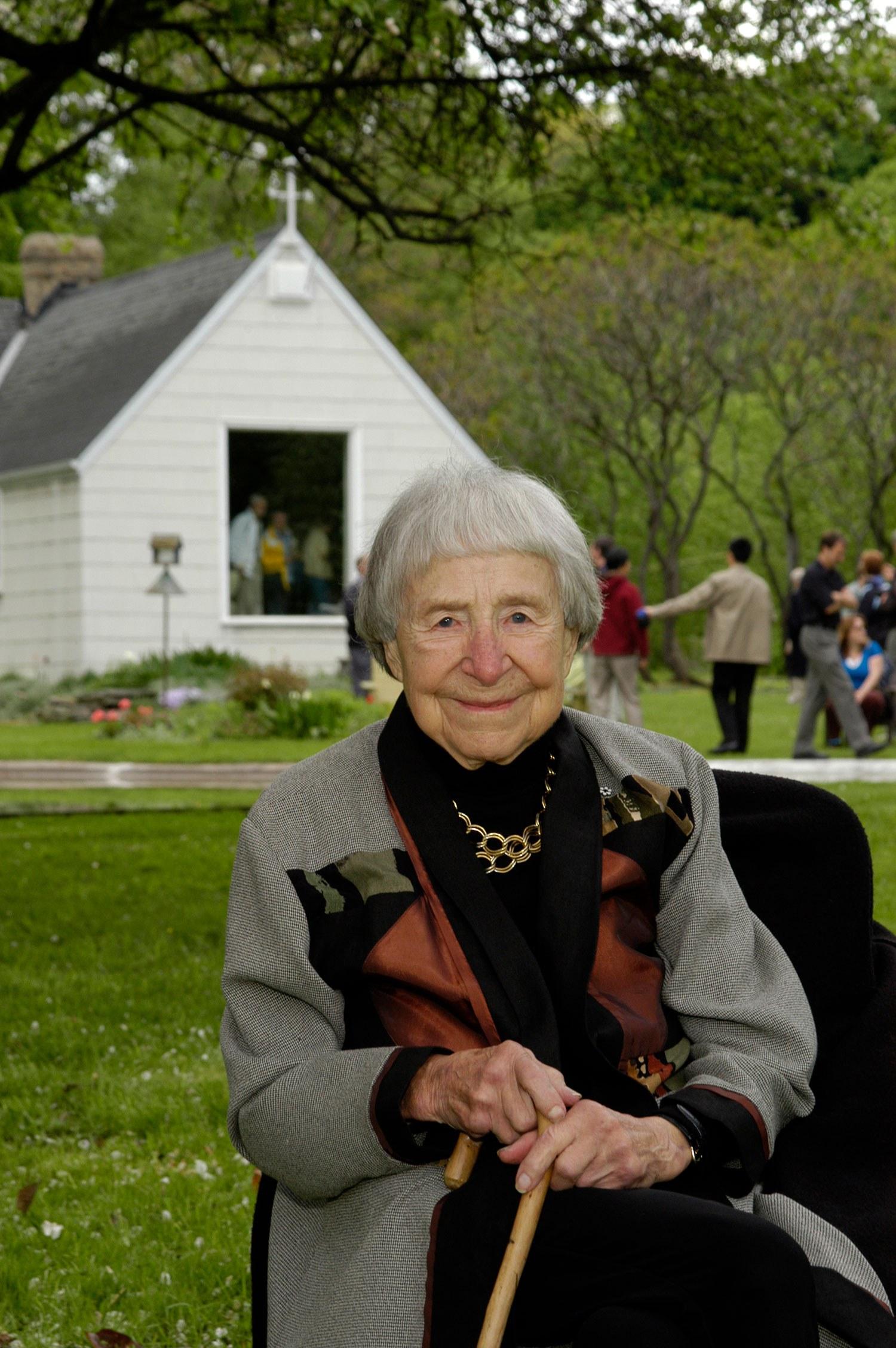 Doris McCarthy a rendu l'âme en 2010 (Photo : David Lee)