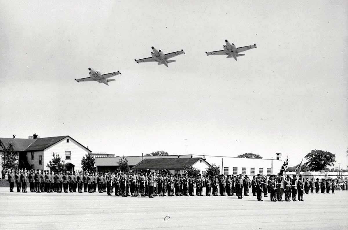 Base Clinton de l'ARC, Journée de la Force aérienne, 1956