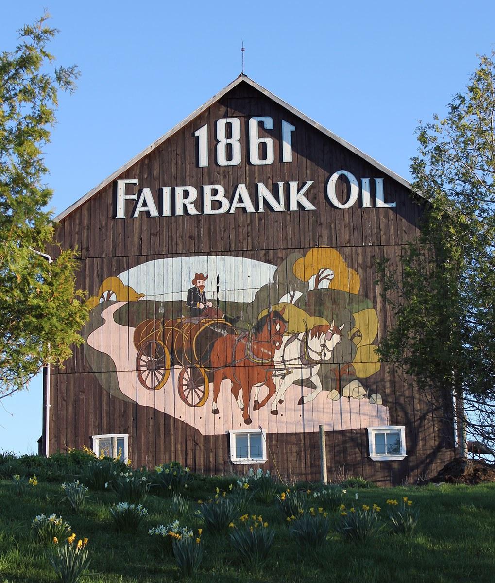 Grange de Fairbank Oil (Photo gracieusement fournie par Charles Oliver Fairbank III)