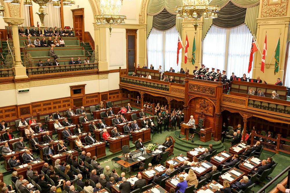 Assemblée législative (Photo gracieusement fournie par le Bureau du lieutenant-gouverneur de l'Ontario)