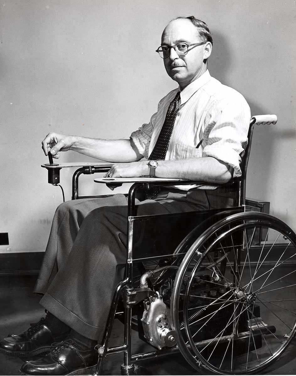 George Klein (Photo : Archives du Conseil national de recherches)