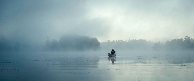 Sur le lac Cranberry