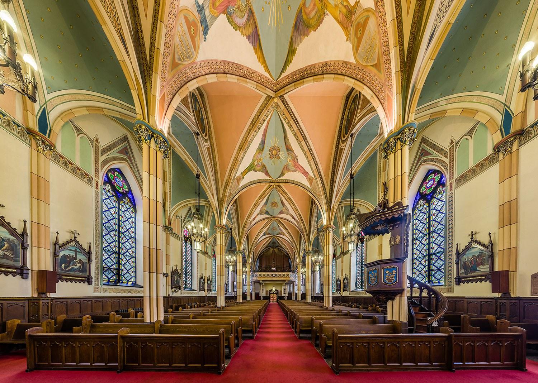 Intérieur de l'église de l'Assomption (Photo gracieusement fournie par Kevin Mannara)