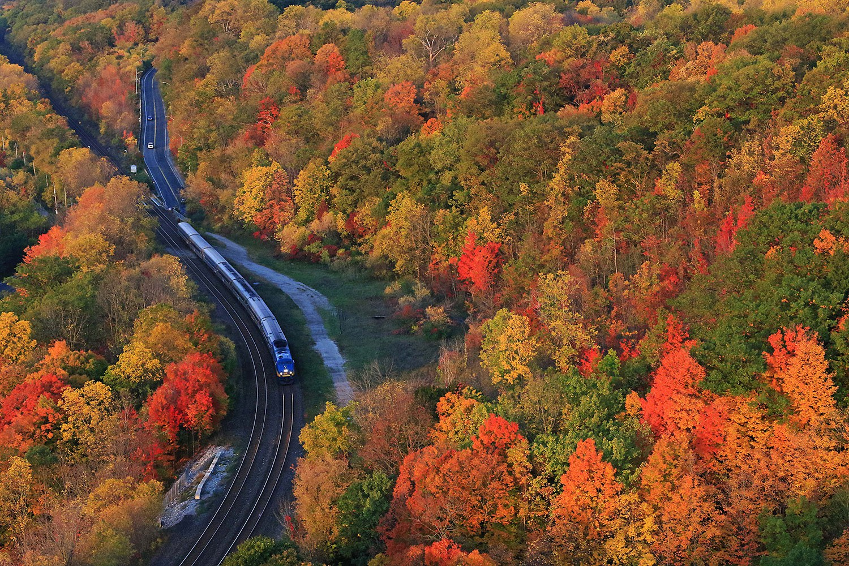 Les trains de l'Ontario (Photo : Earl Minnis)