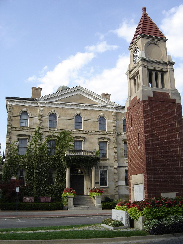 Centre-ville de Niagara-on-the-Lake – district de conservation du patrimoine très visité.