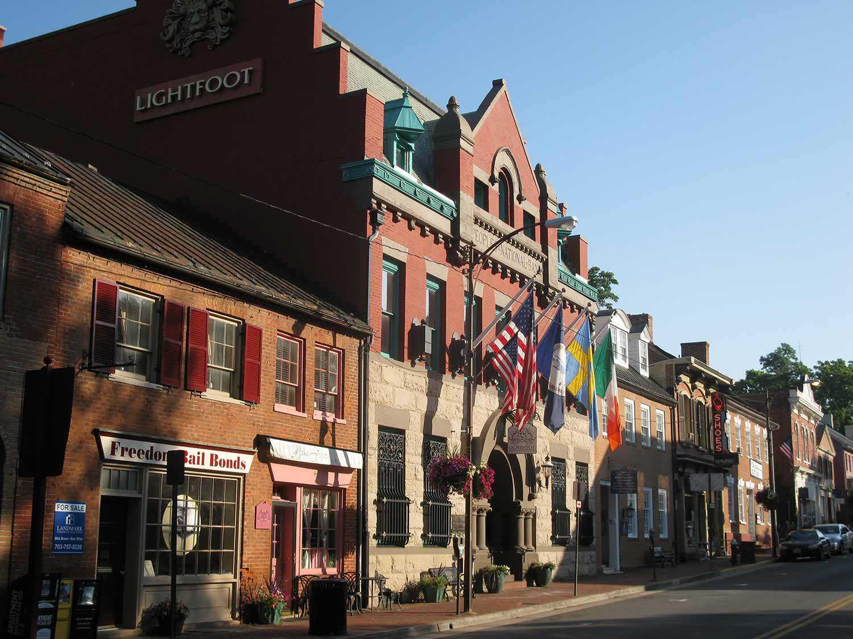 Une rue au comté de Loudoun, Virginie, États-Unis (Photo avec l'aimable autorisation de Donovan Rypkema)