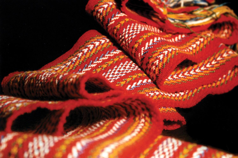 La ceinture fléchée des Méti {Photo gracieusement fournie par M. Margaret Froh}
