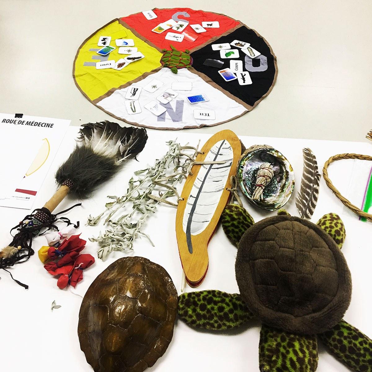 Artefacts autochtones (Photo gracieusement fournie par Mélanie-Rose Frappier)