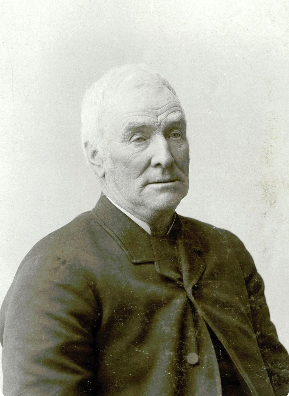 L'immigrant écossais John Miller (1817-1904) établit la ferme Thistle Ha' en 1839. Photographie prise vers 1883. (Reproduite avec la permission de la collection privée de Thistle Ha'.)
