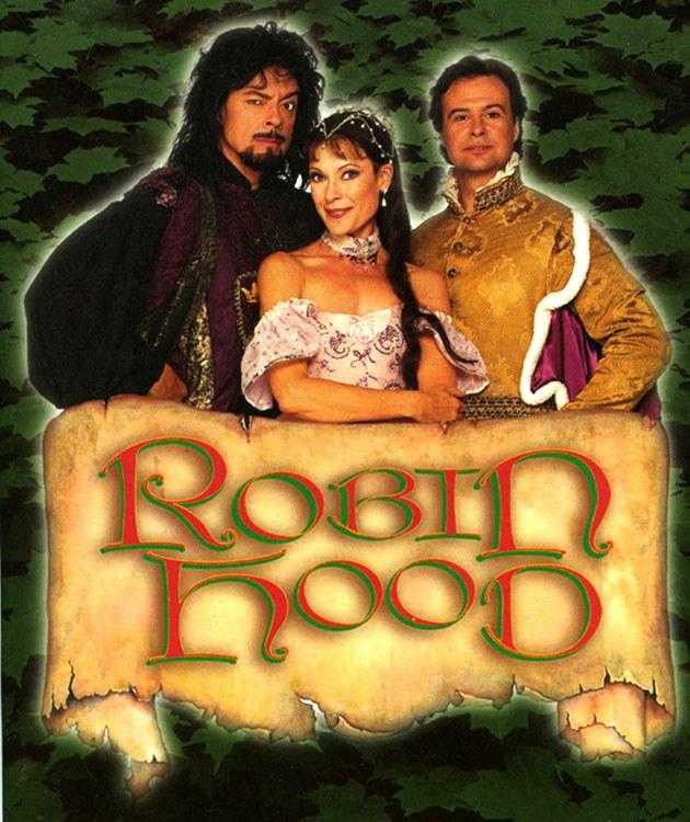 Robin des bois – avec Karen Kain et Frank Augustyn – est la première « panto » de Ross Petty au théâtre Elgin à Toronto.