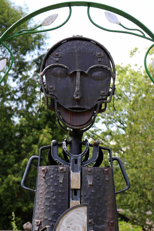Sculptures métalliques par Andreas Drenters