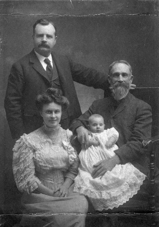 Quatre générations de la famille Williamson