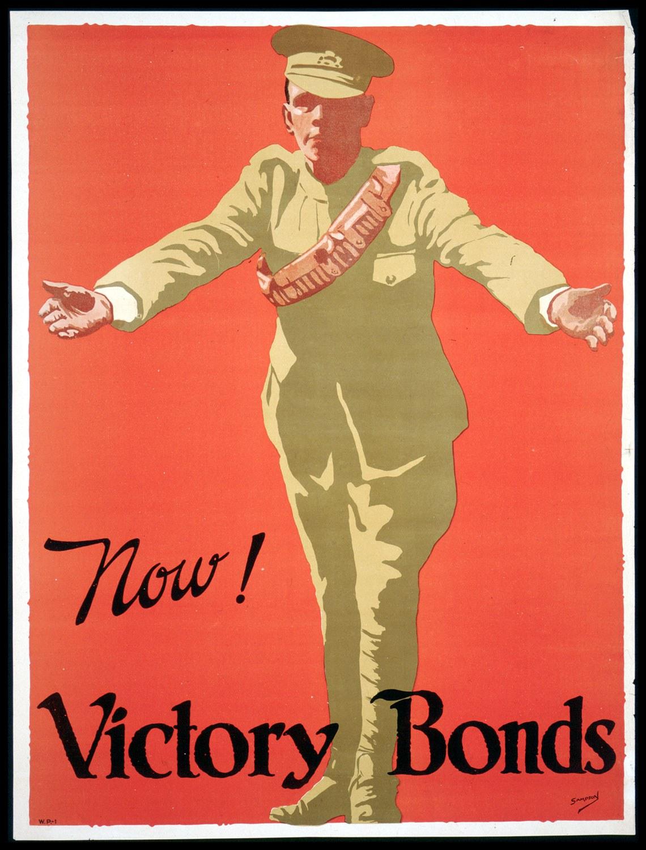 J.E. Sampson. Collection d'affiches de guerre des Archives publiques de l'Ontario [entre 1914 et 1918]. (Archives publiques de l'Ontario, C 233-2-1-0-296).